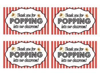 meet the teacher teacher conferences popcorn bags autism support ...