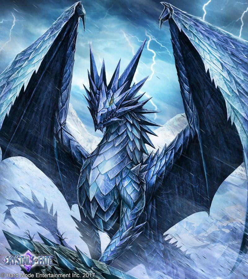 Картинки драконы ледяные