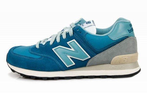 Joes New Balance ML574VDB Sneakers Blue Grey Mens Shoes