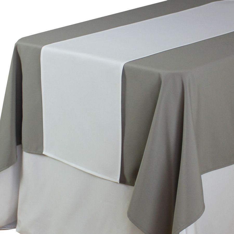 14 X 108 Inch White Table Runners Wholesale Table Runners For