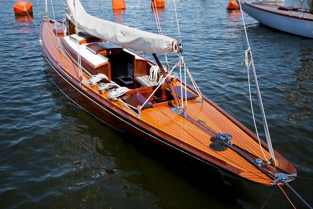 NJORD....an 8mR John Anker design 45ft sailboat built in 1918 by Anker & Jensen..