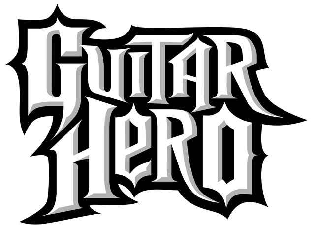 Guitar Hero Logo Video Games Pinterest Videojuegos Guitar