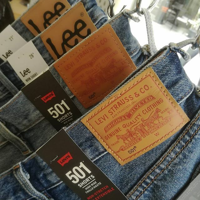 Summer Days are On. Denim Shorts from Levis Lee Jeans etc. Find the online at www.denimlounge.gr & in physical store.  Phone Info 26510 64634 #DenimLounge Streetweat Clothing for #UrbanSlackers since 1969.  #jeans #denim #shorts #levisjeans #levis501 #leejeans #leejeanseurope #wranglerjeans #summer #streetwear #streetstyle #streetfashion #fashion #style #outfit #casualwear #Ioannina #Greece #ioannina-grecce Summer Days are On. Denim Shorts from Levis Lee Jeans etc. Find the online at www.denimlo #ioannina-grecce