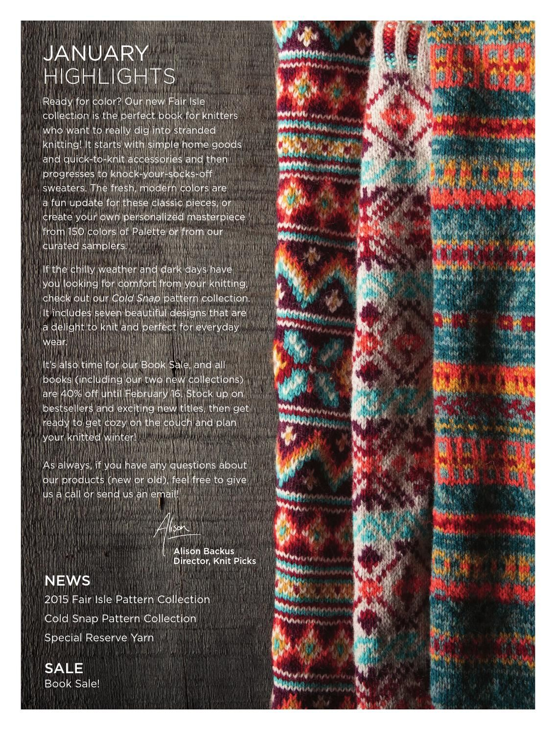 The Very Easy Guide to Fair Isle Knitting sample pages | Fair isle ...