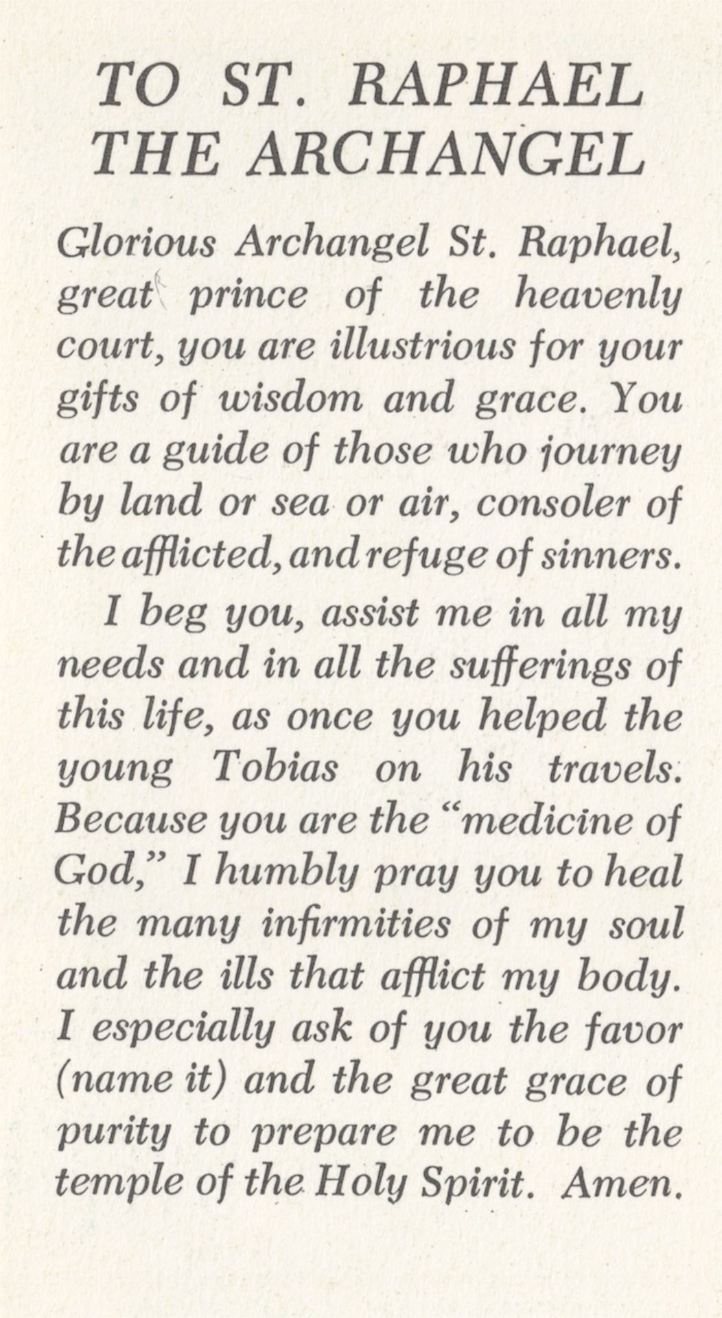 Società Unita  — 555mary:  Prayer Card, front and back