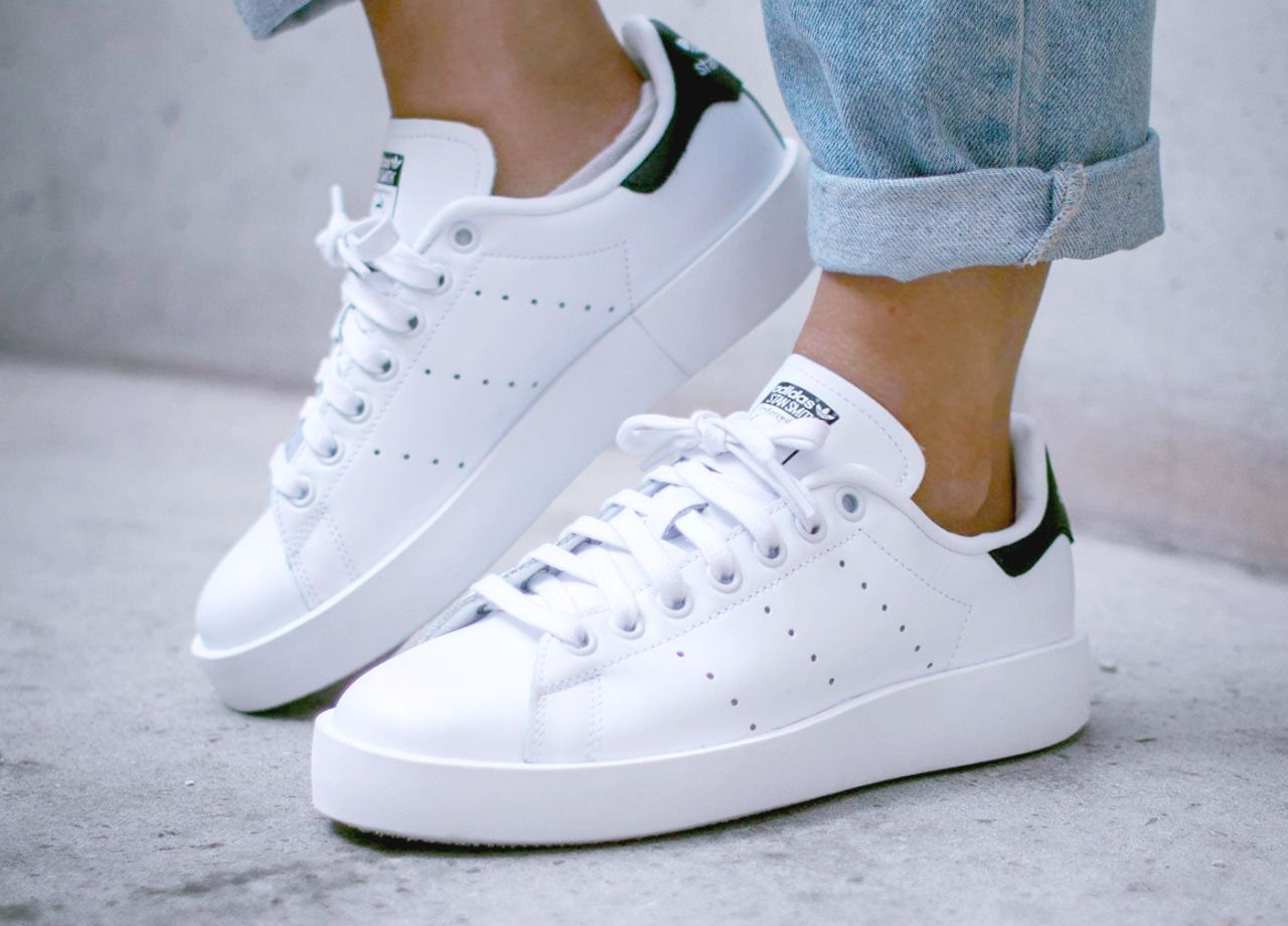 adidas stan smith bold via kicks sneaker en 2018 pinterest chaussure hiver et. Black Bedroom Furniture Sets. Home Design Ideas