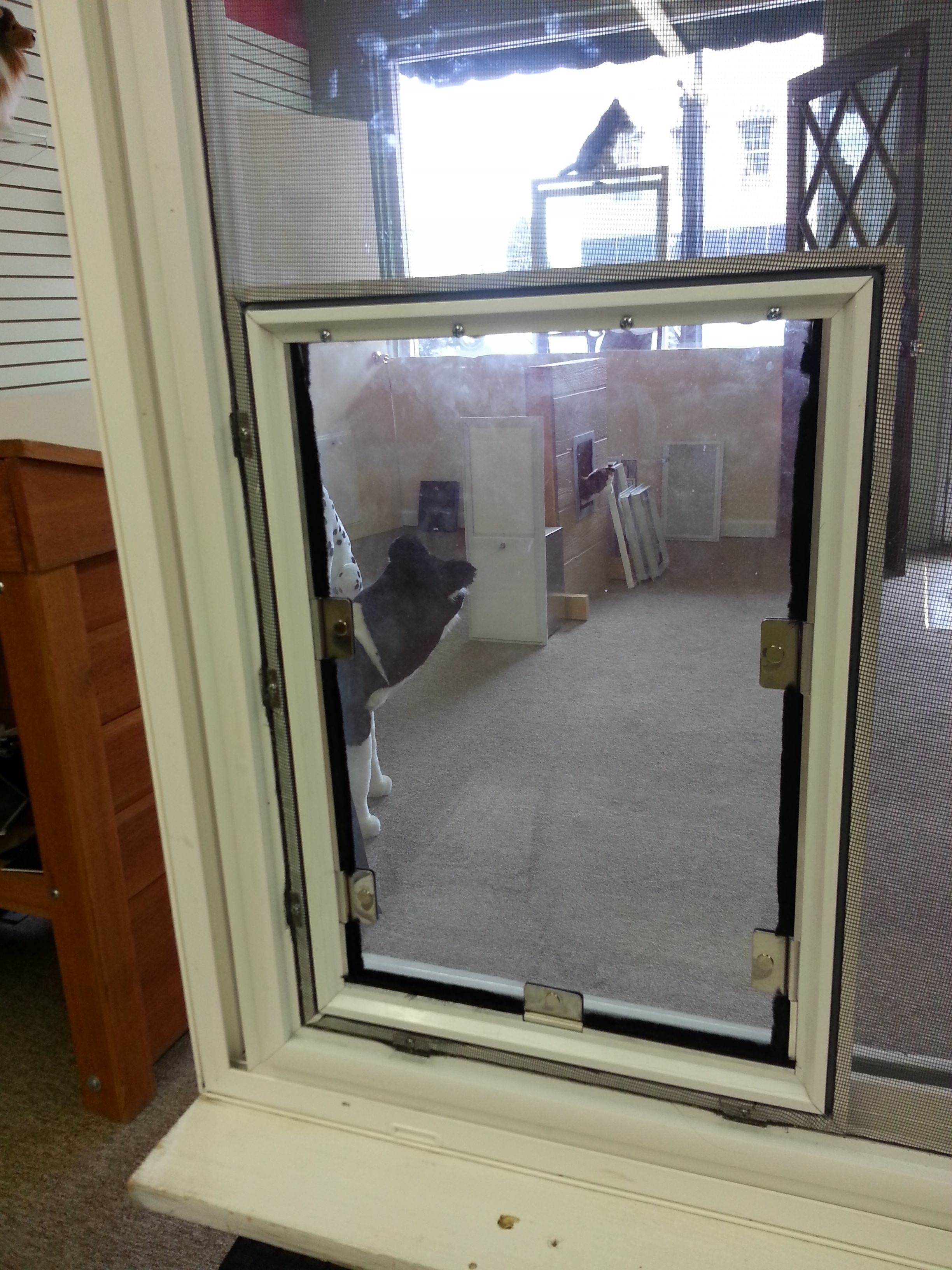 Superieur Indoor Screen Doors For Cats