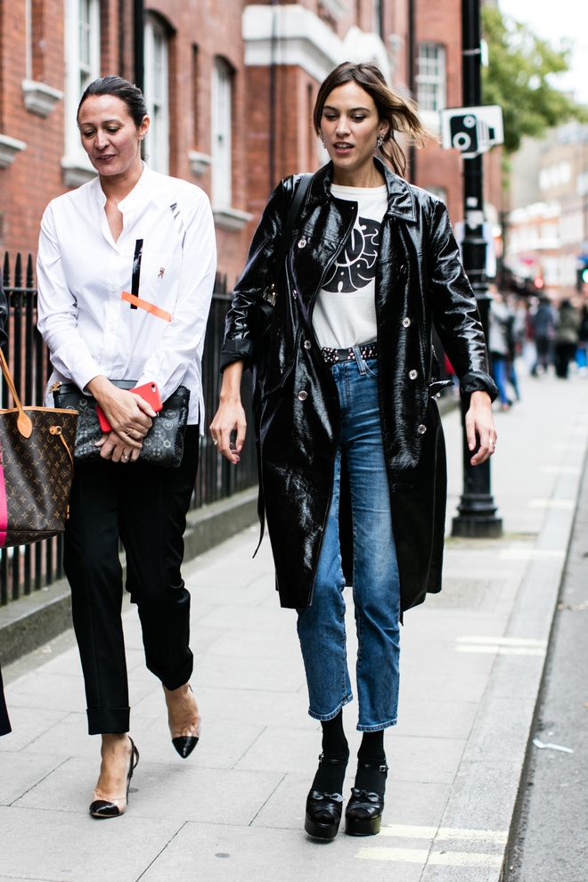 Best Of Lfw S S 2017 Street Style Alexa Chung Street