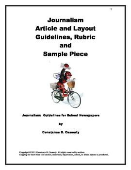 Journalism: Guidelines for School Newspapers Distance