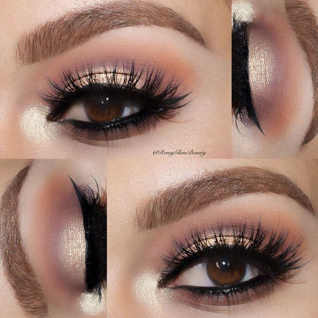 Taupe Eyeshadow Look Google Search Makeup Looks Pinterest