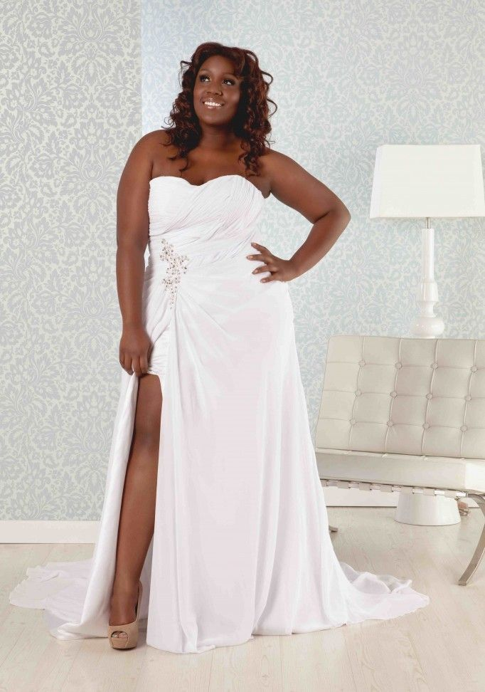 Beach wedding dresses plus size ballard 39 s vow renewal for Wedding vow renewal dresses plus size