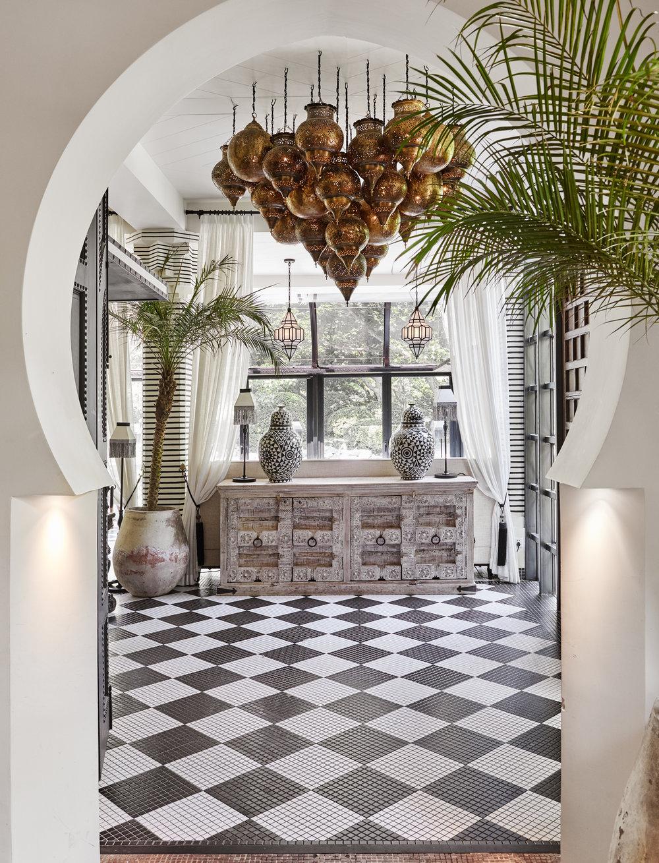 Baptiste Bohu室内设计 Moroccan Interiors Moroccan Lounge Moroccan Style Interior