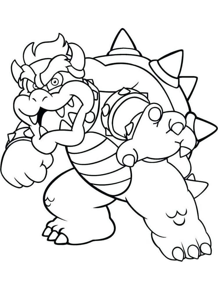 Coloring Pages Of Bowser In 2020 Super Mario Coloring Pages Super Coloring Pages Mario Coloring Pages