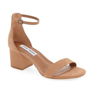 170faac9c59b irenee ankle strap sandal by Steve Madden. Lush suede extends the vintage  sophistication of a