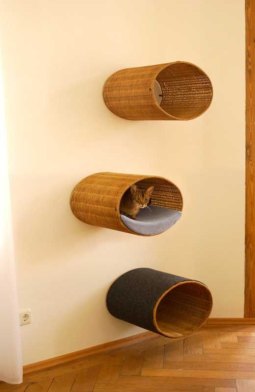 modern cat scratcher rondo a unique cat condo tree and. Black Bedroom Furniture Sets. Home Design Ideas