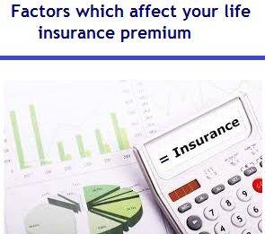 10 Factors which affect your life insurance premium | Debt ...