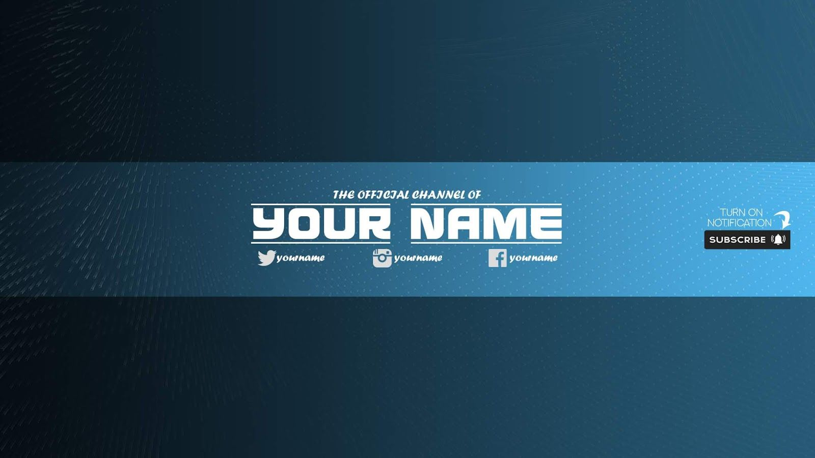 Free Youtube Banner Template 33 Download Now For Free Psd 2019 Seni