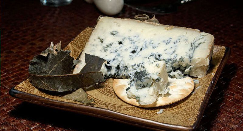 New entry in our Glossary : Cabrales   Read about this at  : http://culinaryglossary.info/c/cabrales/ Cabrales is a blue cheese made in the artisan tradition by rural dairy farmers in Asturias. This cheese can be made from pure, unpasteurised cow's milk or blended in the traditional manner with goat and-or sheep milk, which lends the cheese a stronger, more spicy flavour   We hope this information is helpful..