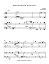 Enjoy playing this long-time traditional Easter hymn
