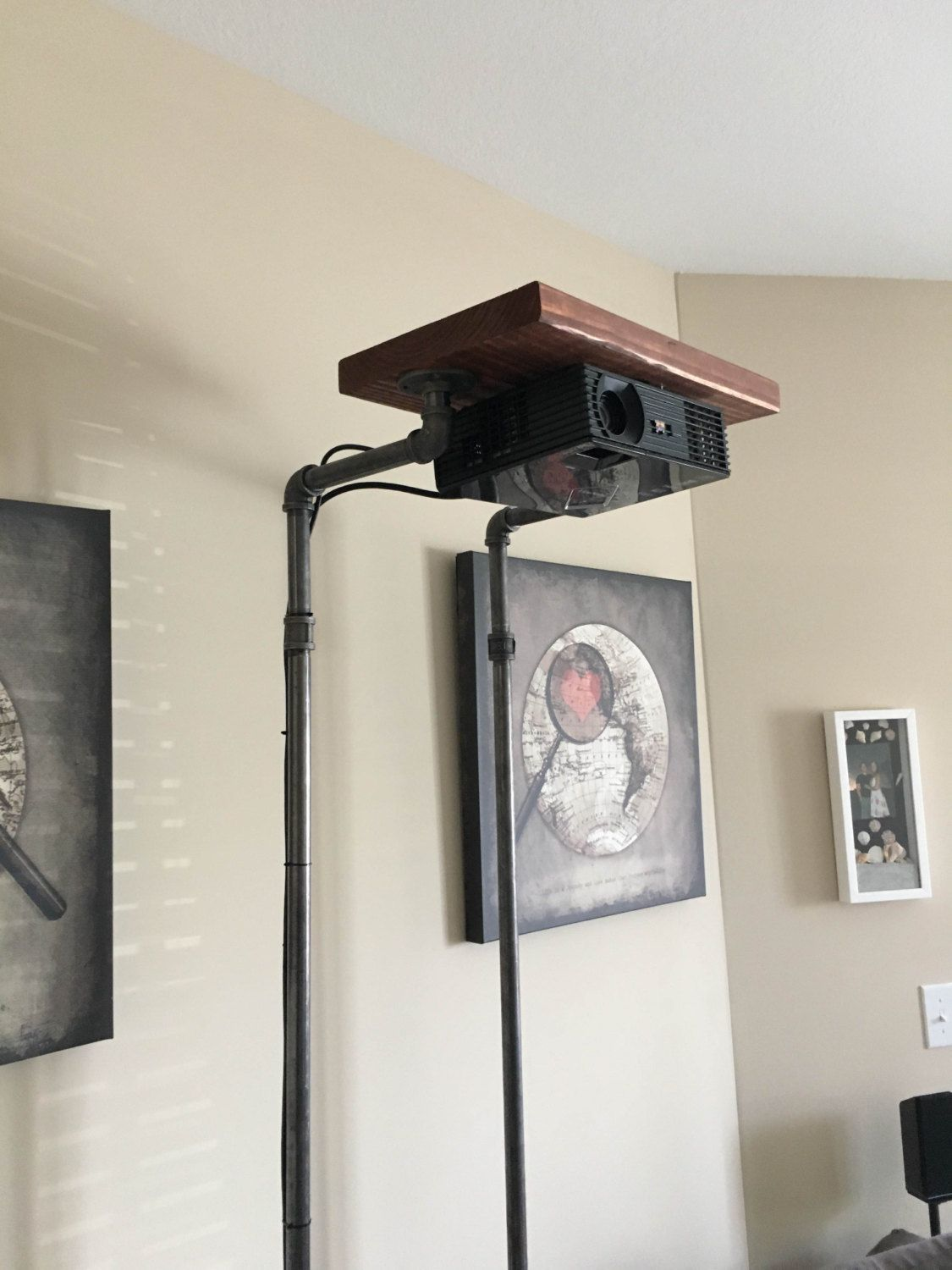 Rustic Projector Stand by AppalachianTradingCo on Etsy   Projector ...