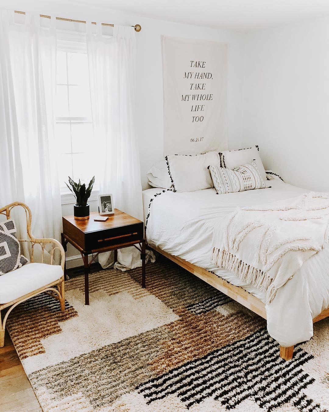 Rugs Bedouin Deco Blocks Off White Area Rug Rugs In Living Room Bedroom Area Rug Boho Living Room