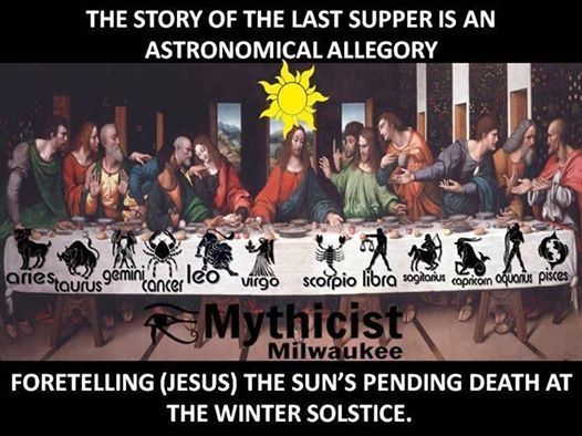 Pin by Trey on Bible | Mystical meaning, Last supper, Zodiac