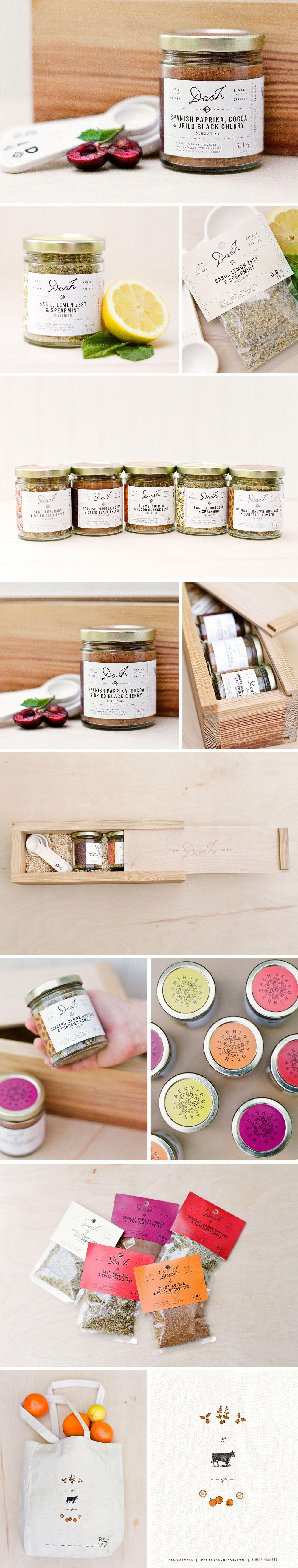Dash Seasonings Packaging Concept