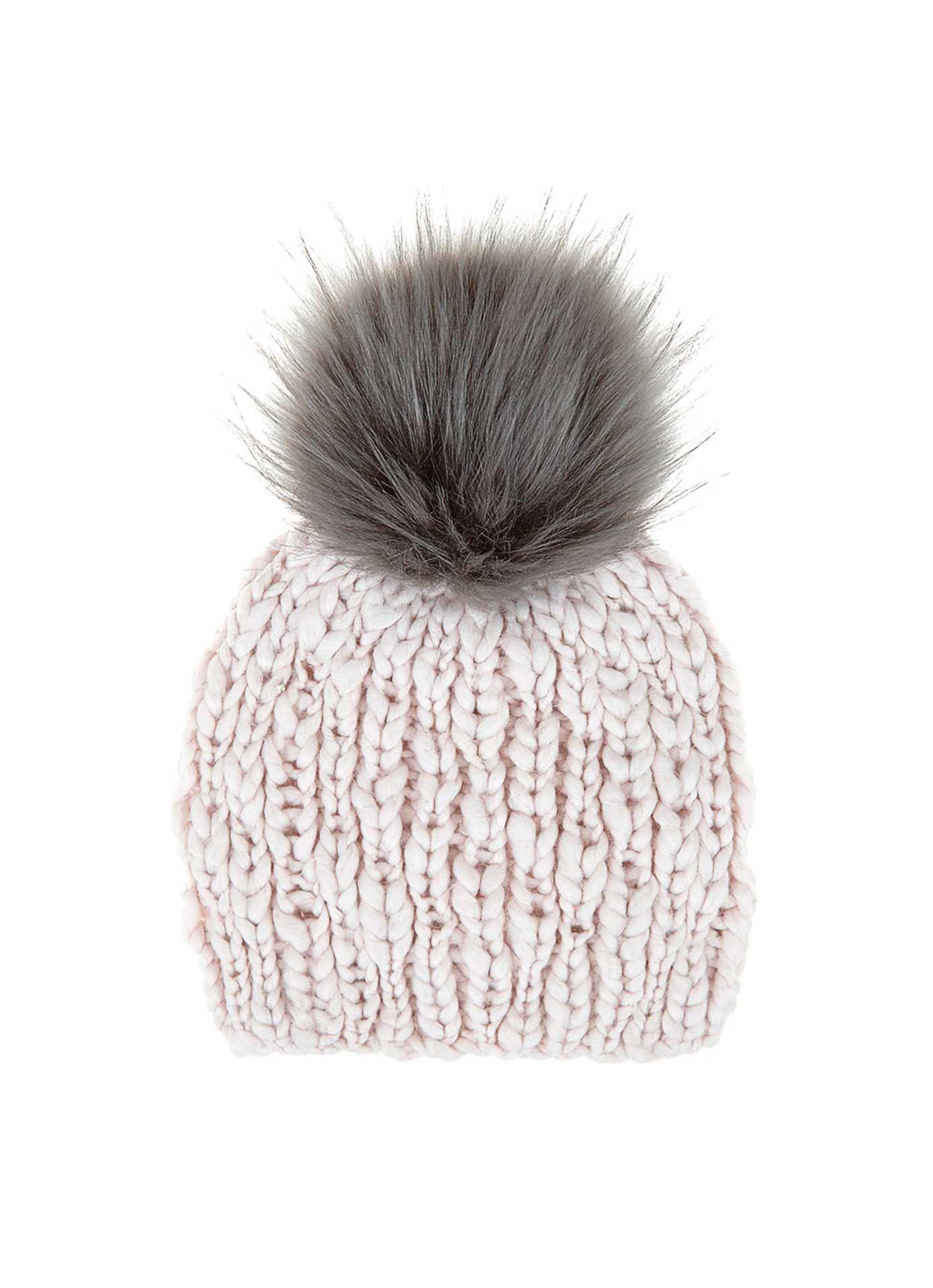 Powder Pom Pom Hat | New in | MintVelvet