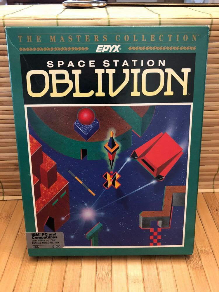 Details about Space Station Oblivion PC Gaming 1988 Epyx