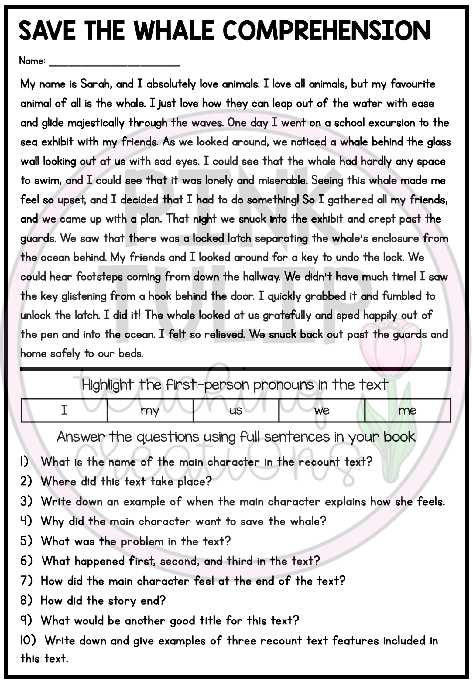 Recount Text Writing Worksheet Pack Comprehension Explanation Writing Writing Worksheets Writing Checklist [ 2249 x 1557 Pixel ]