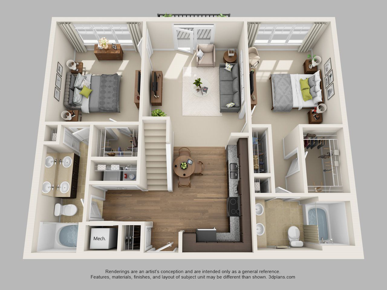 Floor Plans Of Meridian At Harrison Pointe In Cary Nc Floor Plans Small House Plans Facade House