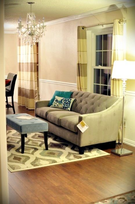 Macy S Chloe Sofa Dining Room Update Home Decor Inspiration