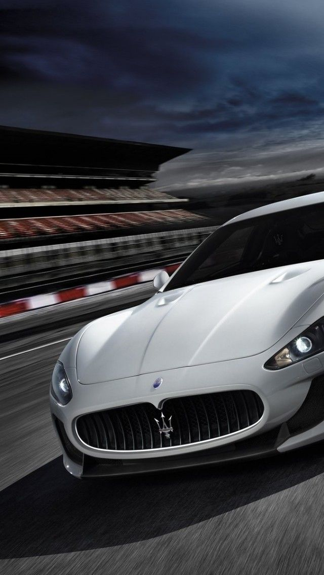 2014 Maserati Sports Car Iphone Hd Wallpaper Wallpaper Avec