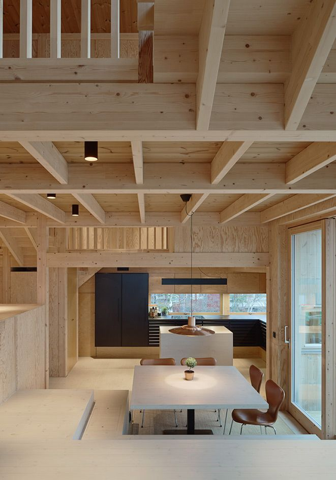Villa Moelven Is A Surprising Swedish Home Inspired By The Labyrinth Interior Architecture Design Architecture House Contemporary Interior Design