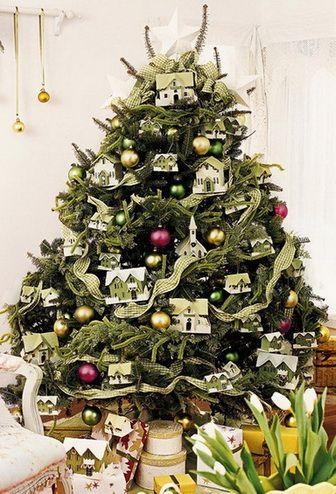 Christmas Tree Decorating Ideas_40 Christmas decor Pinterest