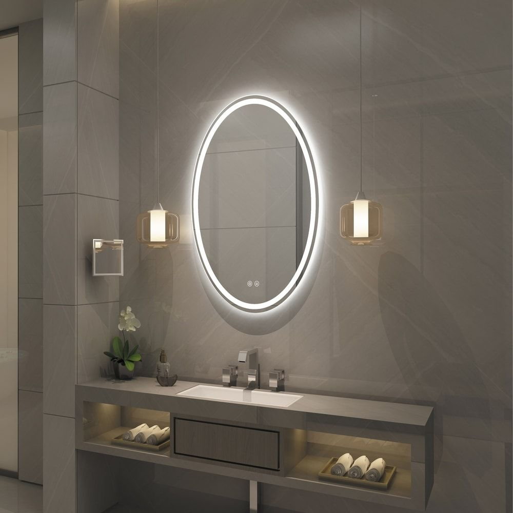 Overstock Com Online Shopping Bedding Furniture Electronics Jewelry Clothing More In 2020 Led Mirror Bathroom Led Mirror Bathroom Mirror