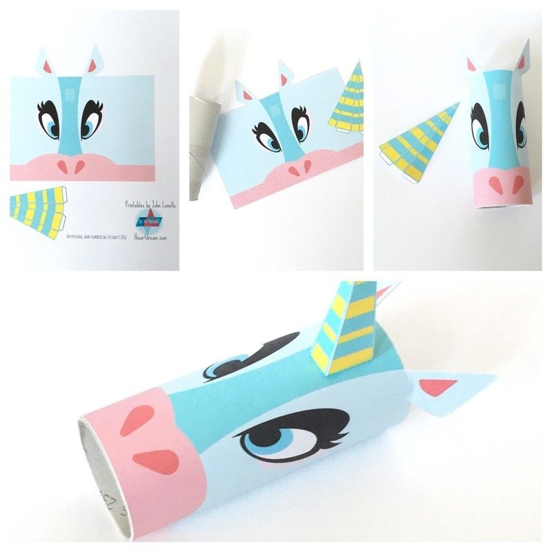 unicorn toilet paper roll craft unicorn toilet craft printable decoraci 243 n 7274