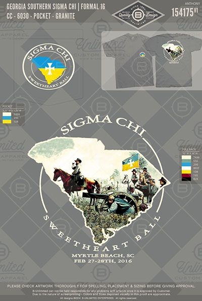 Georgia Southern Sigma Chi Formal Bunlimited Buonyou