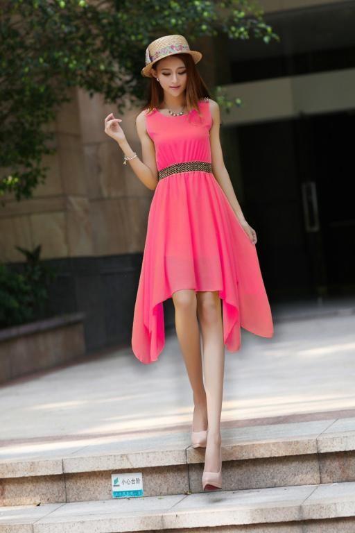 Zwiewna Lekka Sukienka Na Lato Sukienki S 4247919714 Oficjalne Archiwum Allegro Chiffon Summer Dress Summer Dresses Sleeveless Dress Summer
