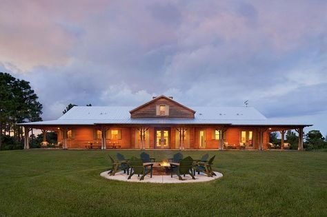A Hunter's Ranch House | Ranch house plans, Ranch style ... on
