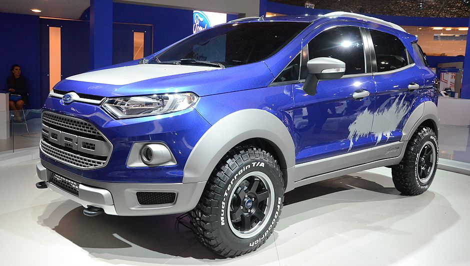 2014 ford ecosport raptor concept cars from ford ford. Black Bedroom Furniture Sets. Home Design Ideas