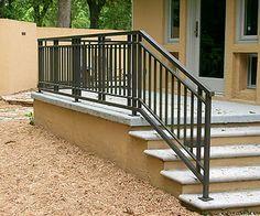 Exterior Railing Exterior Stair Railing