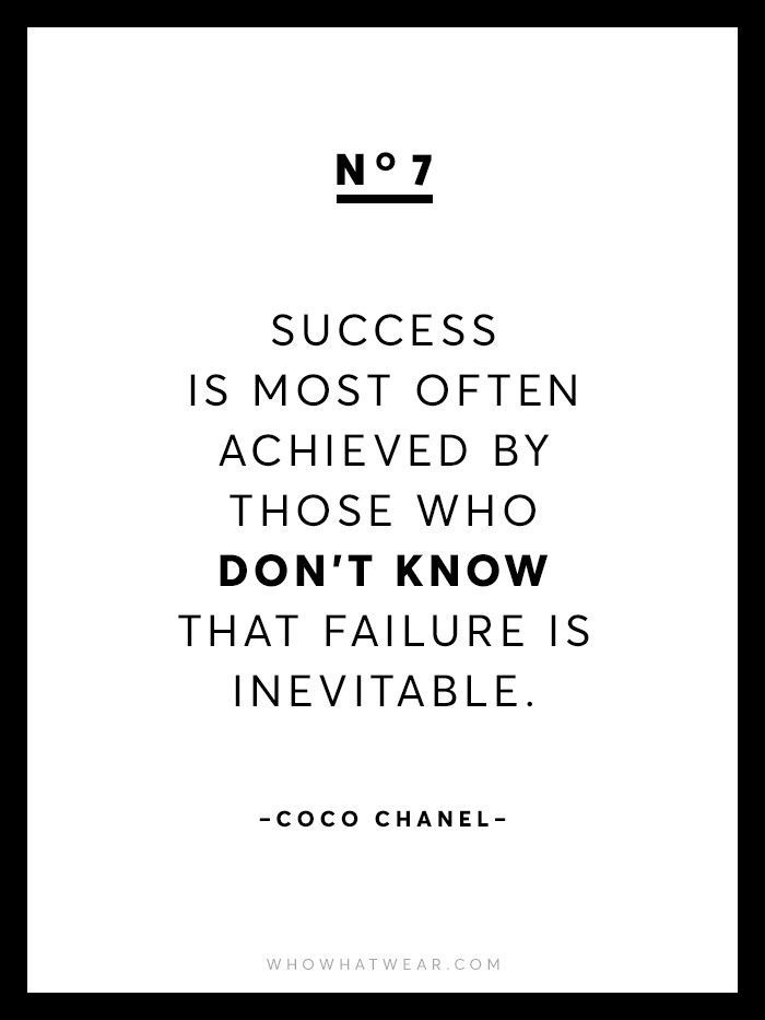 Chanel Quotes 13 Rare Coco Chanel Quotes  Coco Chanel Wise Words And Wisdom