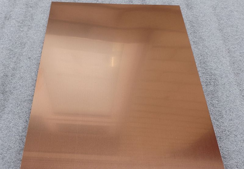 Natural Copper Sheet Copper Sheets Aluminum Sheet Metal Sheet Metal