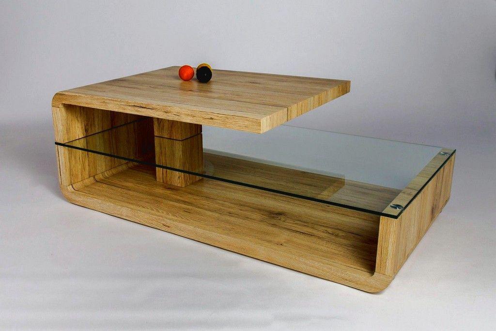 Table Basse Design Bois Et Verre Ch Ne Sable Galati 1 1 Di 2020