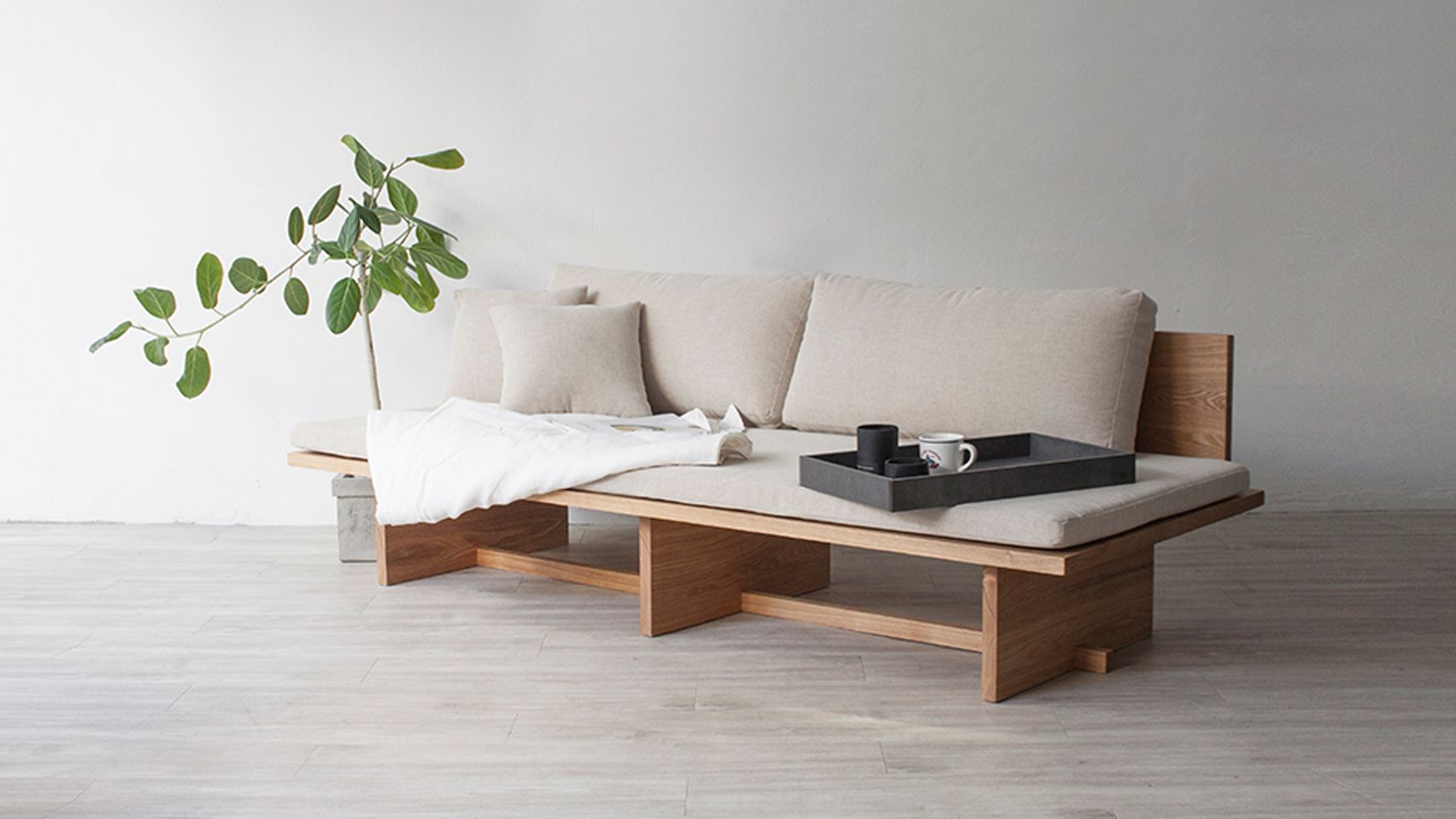 Hyung suk cho updates traditional korean elements for blank daybed