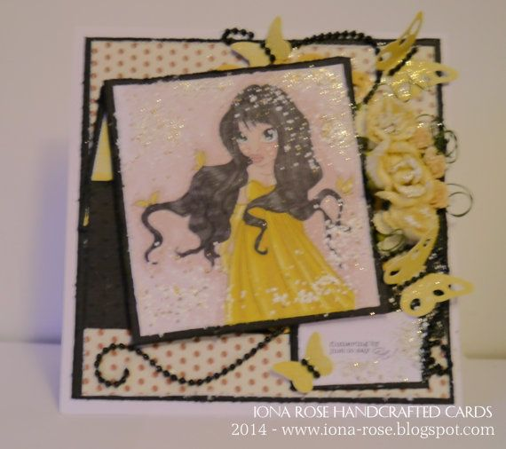 ***NEW LISTING***  07/01/14  OOAK   Thinking Of You by IonaRose on Etsy, £3.99