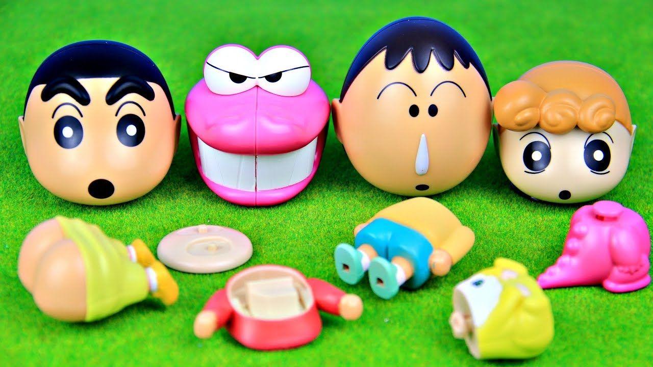 Crayon Shin Chan Toys Gachapon クレヨンしんちゃん Shinchan Toys