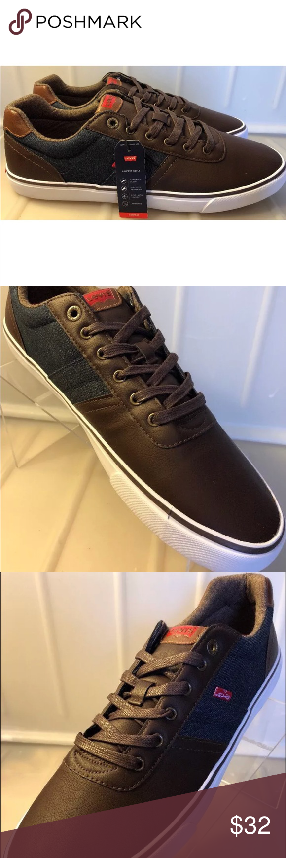 Levi's Turner nappa Men's size 13 casual shoes NEW LEVI'S TURNER NAPPA  MEN'S Size 13 CASUAL e4656352c845