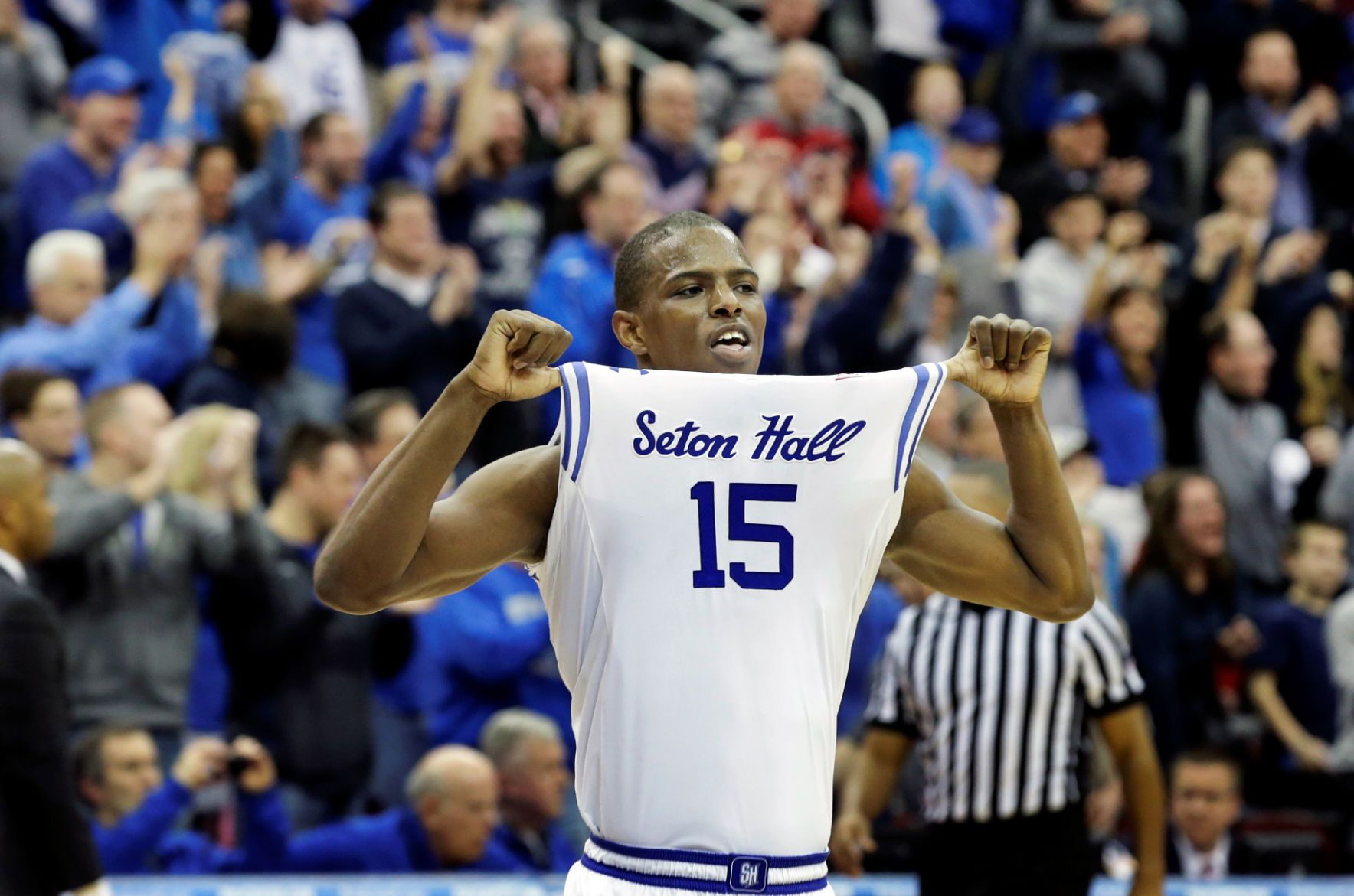 Seton Hall comes surging into Madison Square Garden after